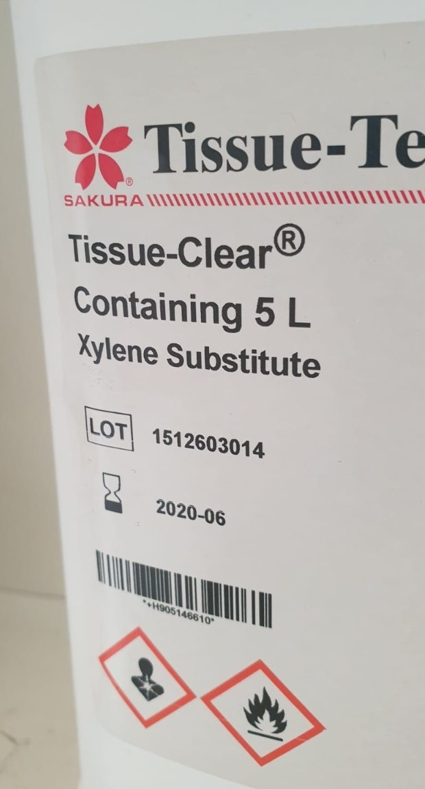Tissue Clear Containing 5L