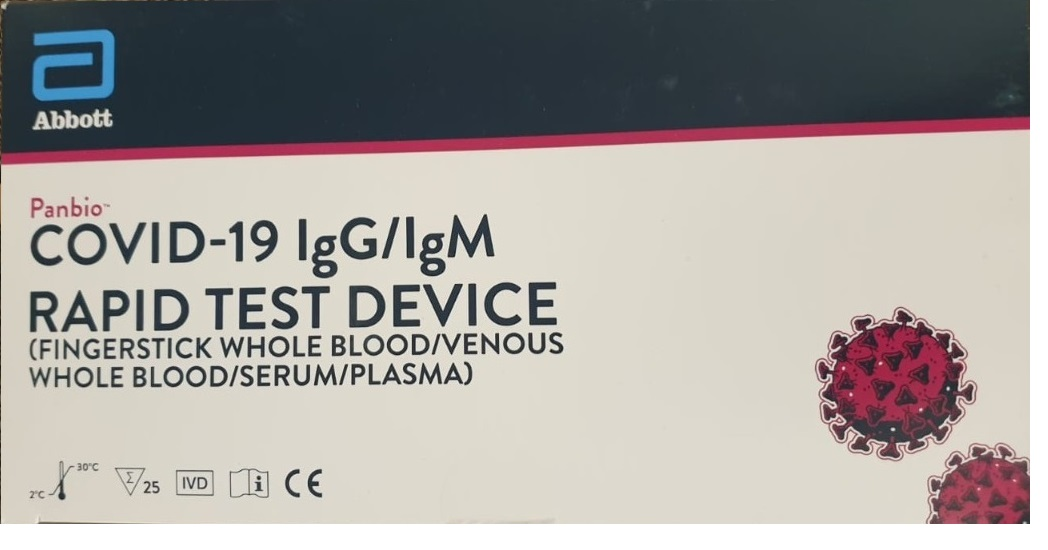 lgG Rapid Test Device